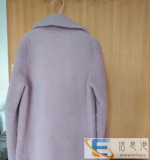 羊皮皮毛一体大衣韩版