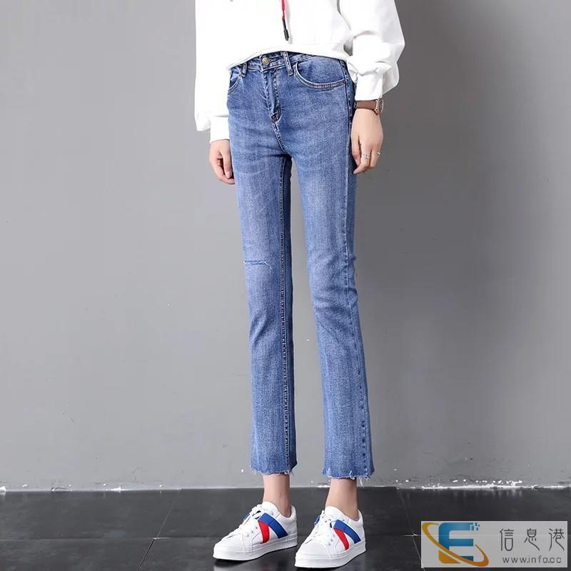 齐齐哈尔哪里工厂直销低价牛仔裤摆地摊进货韩版休闲牛仔裤10元